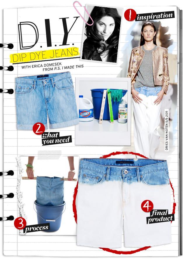 Dip Dye Jeans