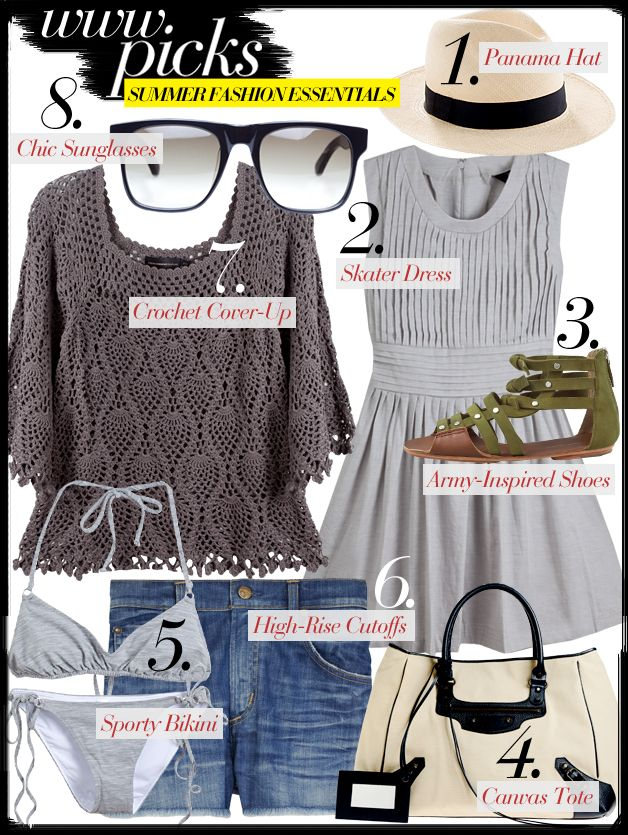 Summer Essentials Fashion