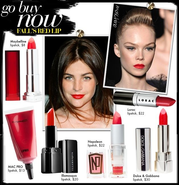 Fall's Red Lip