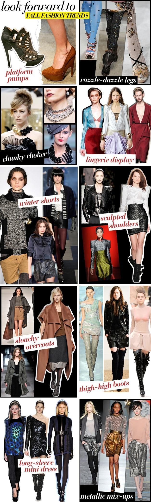 Fall 09 Fashion Trends