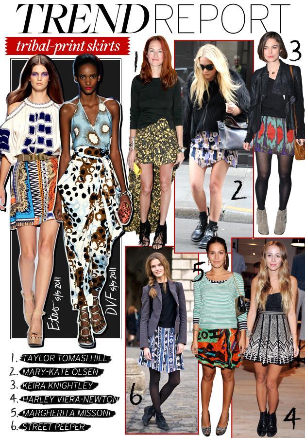 Tribal Print Skirts Whowhatwear Au