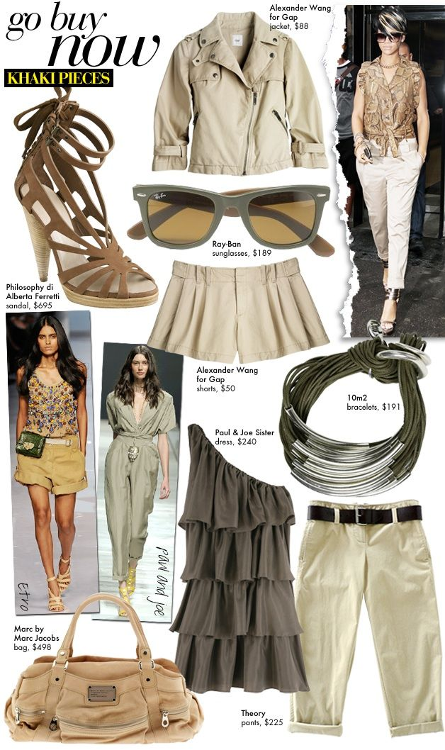 Khaki Pieces