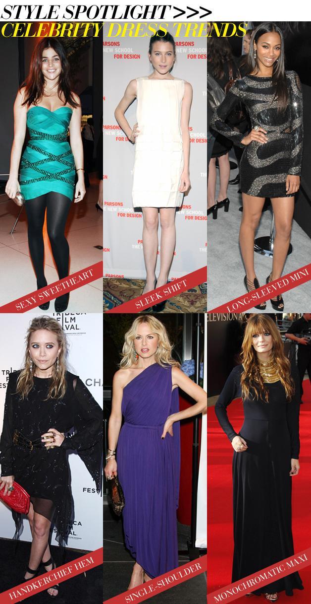 Celebrity Dress Trends