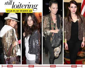 Sequin Outerwear