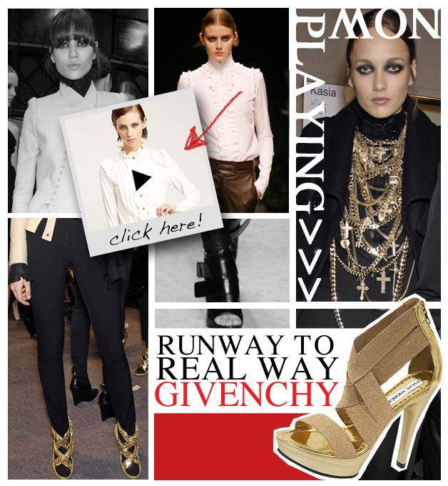 Runway to Real Way: Givenchy