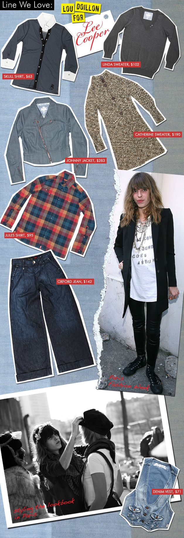 Lou Doillon for Lee Cooper