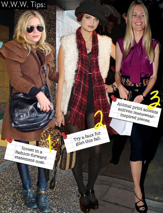 Mary Kate Olsen, Pixie Geldof, Claudia Schiffer