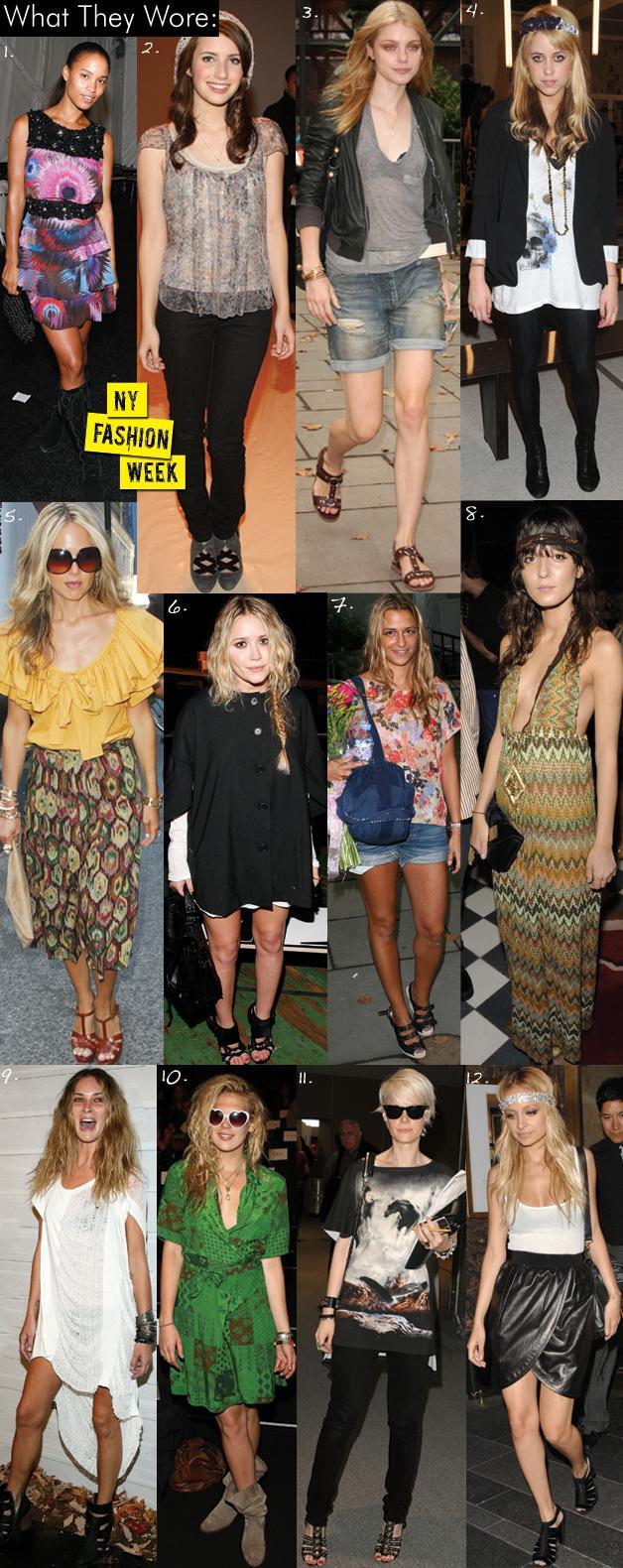 NY Fashion Week Part 1