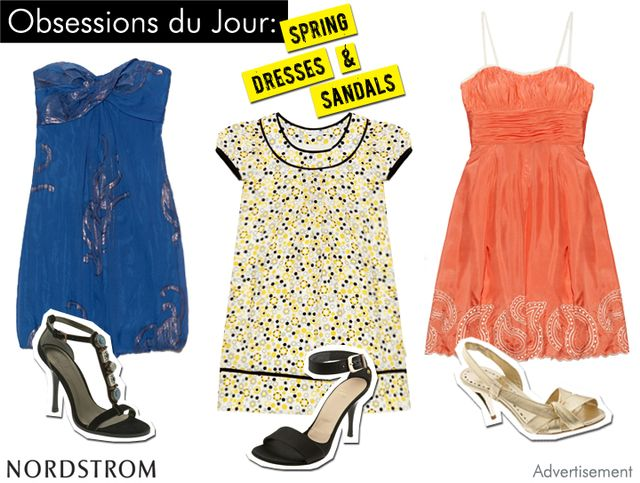 Nordstrom Must Have Dresses and Sandals