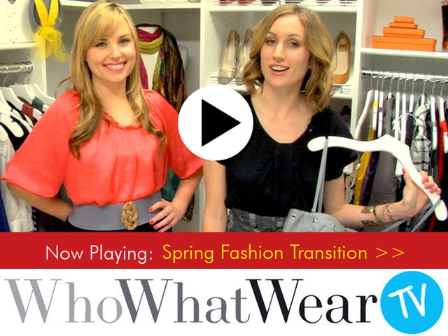 Spring Fashion Transition