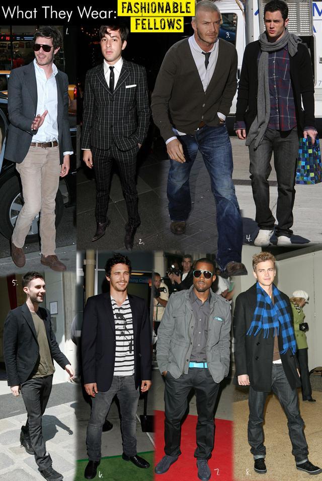 Fashionable Fellows