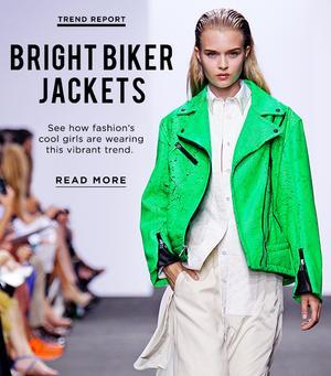 Lighten Up! The Bright Moto Jackets We Love For Summer