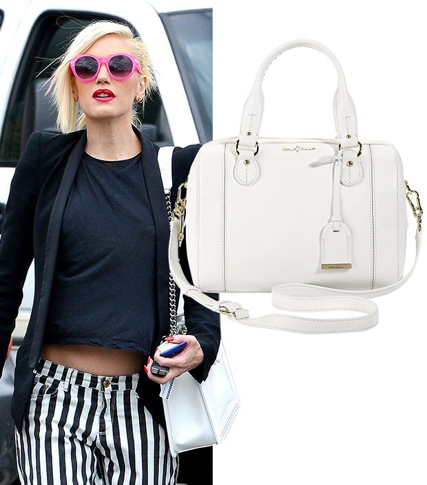 White Is The New Black! Shop The Season's Chicest White Bags