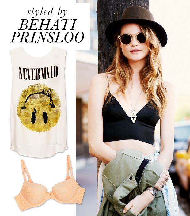 Behati Prinsloo's Day In The Who What Wear Closet
