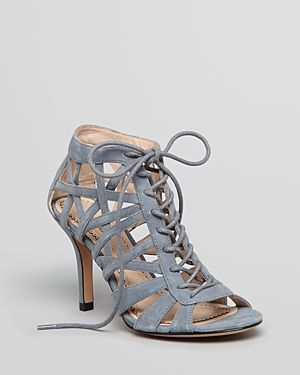 Spring S Most Sultry Shoe The Lace Up Heel Whowhatwear