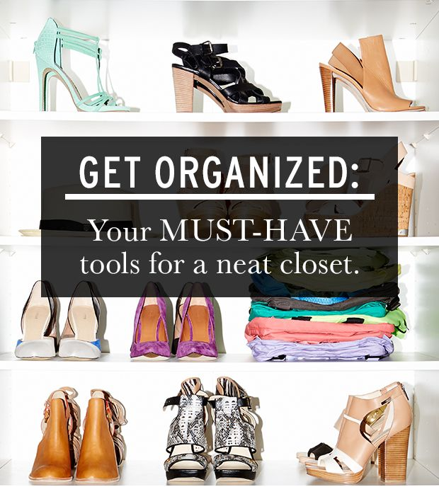 All the tools you need to organize your closet whowhatwear for How do you organize your closet
