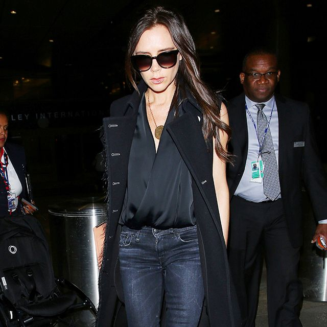 Victoria Beckham's Guide to Wearing All-Black Without Looking Boring