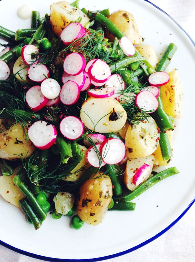 Herby Spring Potato Salad