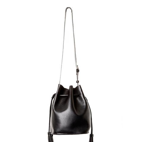 Casablanca Vegan Leather Contemporary Bucket Bag