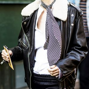 Meet the Must-Have Accessory for Fall: The Skinny Scarf