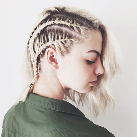 Super 10 Braids That Look Amazing On Short Hair Byrdie Short Hairstyles For Black Women Fulllsitofus
