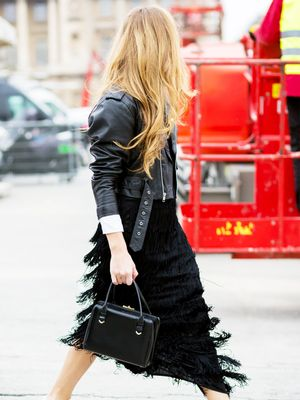 A Super-Subtle Way to Style Your Fringe Skirt