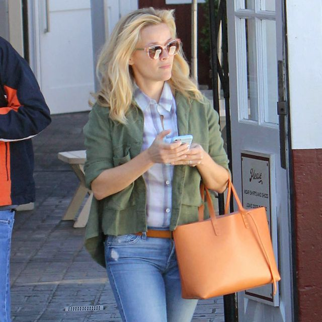 The Celeb Favorite Brand Behind Reese Witherspoon's Utility Jacket