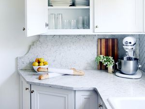 Before and After: A Drab Kitchen Gets a Bright White Makeover