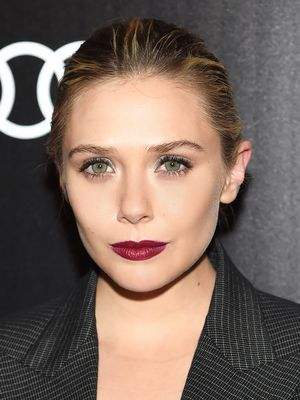 Elizabeth Olsen's Vampy Wine Lip, Plus More Celeb Beauty