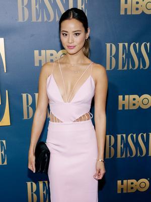 Jamie Chung's Date Night-Ready Cutout Dress