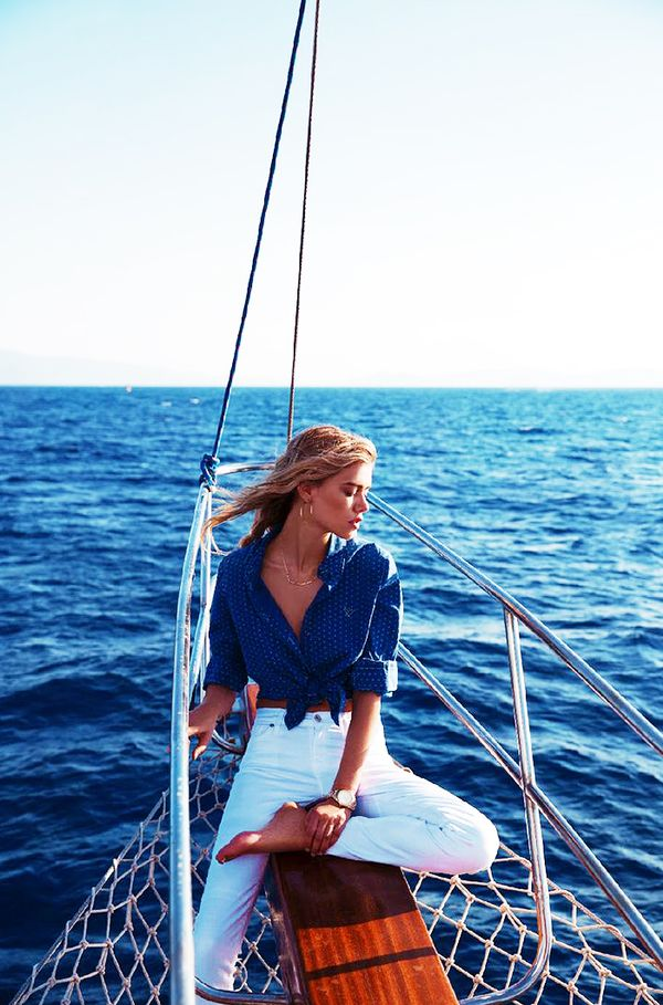 How To Be Best Dressed On A Boat This Summer Whowhatwear Uk