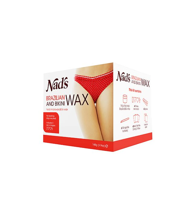Brazilian wax pictures process