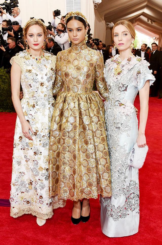 WHO: Brie Larson, Courtney Eaton, and Annabelle Wallis