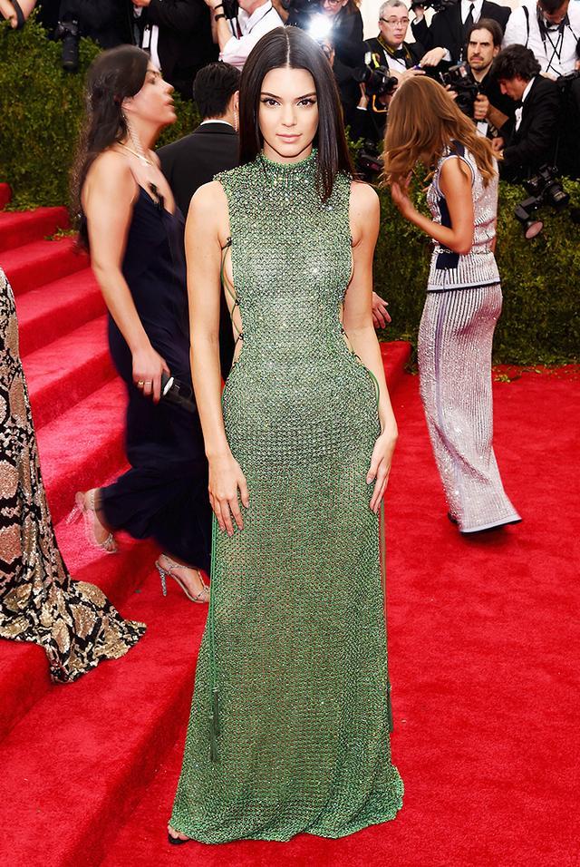 WHO: Kendall Jenner WEAR: Chopard jewelry.