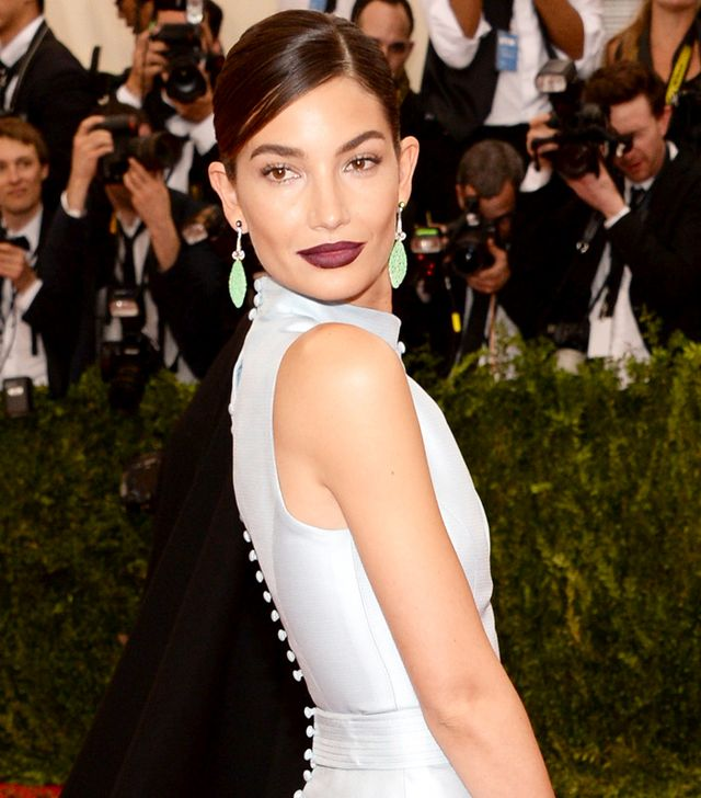 Exclusive: Lily Aldridge's Makeup Artist on Her Met Ball Look