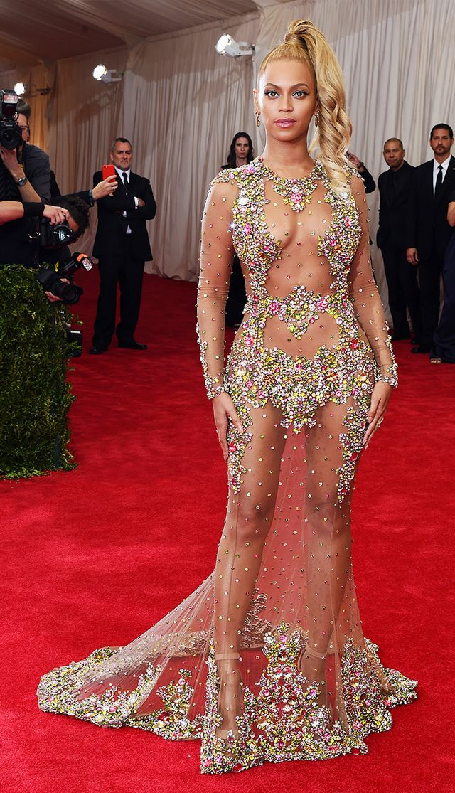 Met Gala 2015 Beyonce Shoes