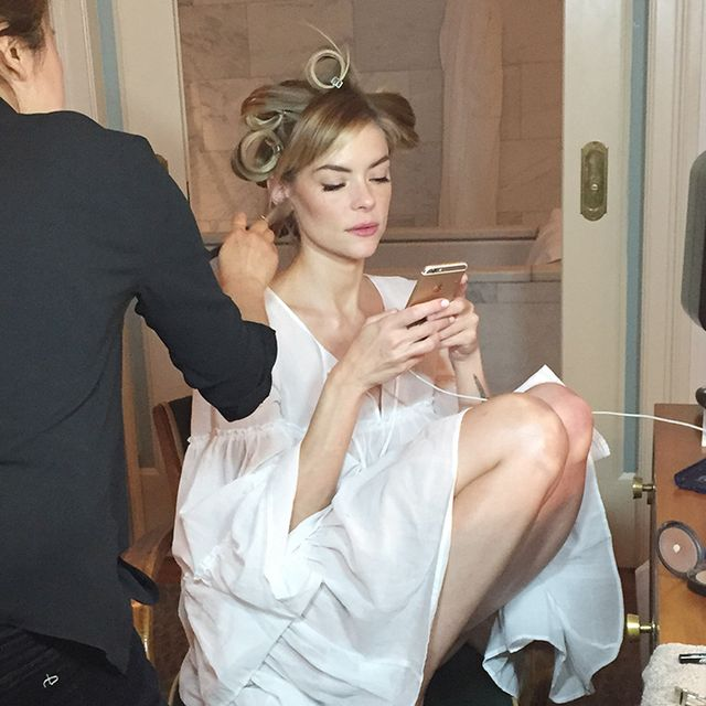 Exclusive: Jaime King Gives Us a Sneak Peek at Her Prep for the Met Ball