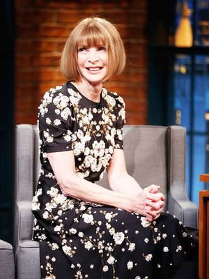 Proof Anna Wintour Is Funnier Than Seth Meyers