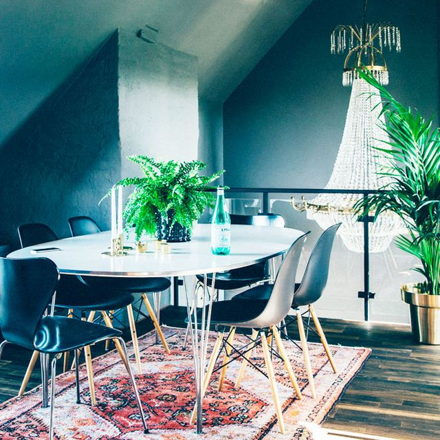 Inside an Attic Apartment With Rock 'n' Roll Style