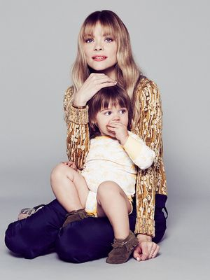 Exclusive: Jaime King Puts a Fresh Spin on Maternity Dressing