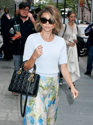 Sarah Hyland Makes a Strong Case for Spring Florals