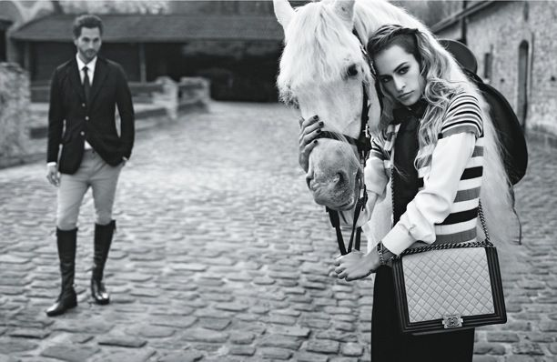 Chanel | Boy Bag | S/S 2013 Campaign