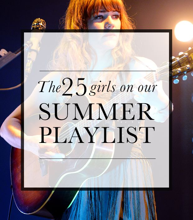 Your Summer Cheat Sheet To The Coolest Girls In Music