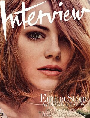 Emma Stone Stuns In The May Issue Of Interview Magazine