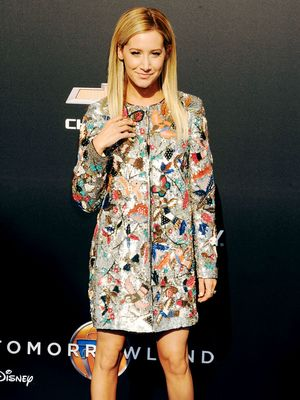 Surprise! Ashley Tisdale's Embellished Ensemble Is Not a Dress