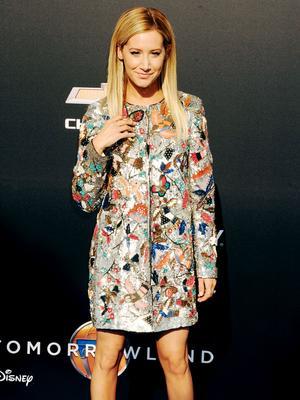 Surprise! Ashley Tisdale's Embellished Ensemble Is Not a Dress