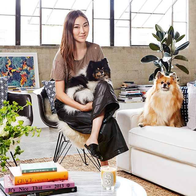 Tour Stylist Jayne Min's Streamlined Los Angeles Loft