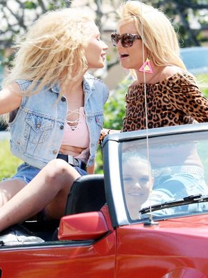 "Watch Britney Spears and Iggy Azalea's Music Video for ""Pretty Girls"""