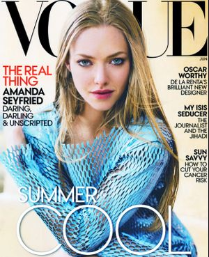 Amanda Seyfried Lands The June Cover Of Vogue