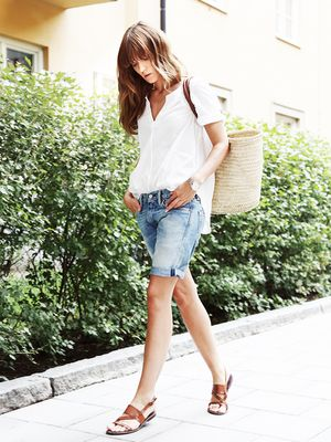 The Best Jean Shorts for Girls Who Hate Cutoffs